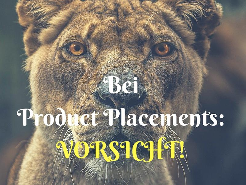 Youtube Geld Product Placmenets